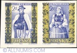 Image #1 of 2 zlote; 2 zlote - Man and woman from Łowicz (imperf.)