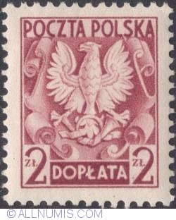 Image #1 of 2 złote - Polish Eagle ( Without imprint )