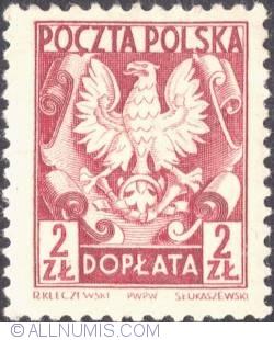 Image #1 of 2 złote- Polish Eagle