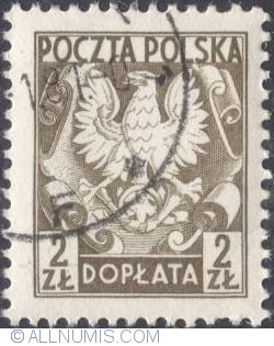 2 złote- Polish Eagle