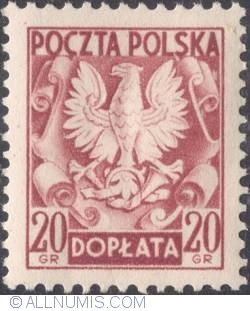 Image #1 of 20 groszy- Polish Eagle ( Without imprint )