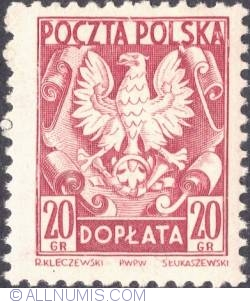 Image #1 of 20 groszy - Polish Eagle