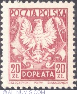 Image #1 of 20 złotych- Polish Eagle