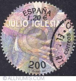 Image #1 of 200 ptas (1,20 €) - Julio Iglesias