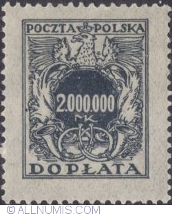 Image #1 of 2.000.000 mark - Polish Eagle