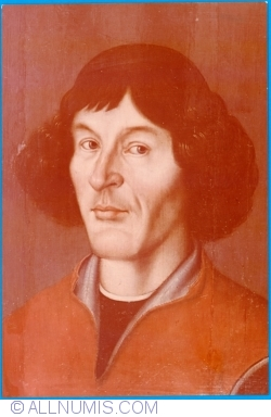 Image #1 of Potrtait of Nicolaus Copernicus from 16th century (1973)