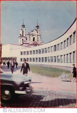 "Vilnius - Școala Gimnazială ""Salomeja Neris"" (1966)"