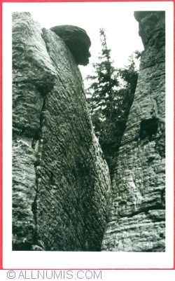 """Image #1 of Stołowe Mountains - """"The Monkey's Head"""" (1955)"""
