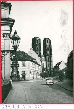 Image #1 of Wrocław - Katedralna Street (1969)