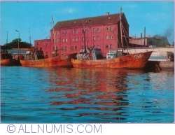 Image #1 of Ustka - In the fishing port (1980)