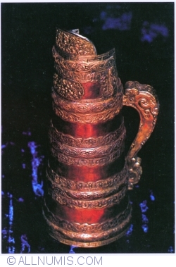 Image #1 of A molgolian teapot copper 19th century