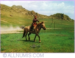 Image #1 of In the steppe. Every child has his horse (1979)