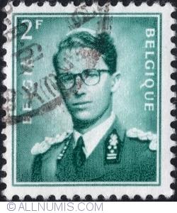 Image #1 of 2 Francs - King Baudouin 1958