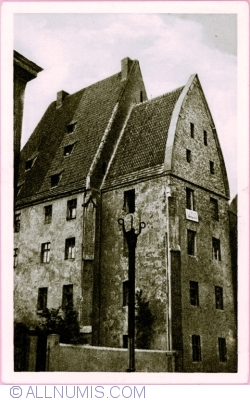 Image #1 of Wrocław - House from middleages on the island Ostrów Tumski (1951)