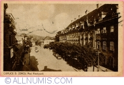 Image #1 of Cieplice - Piastowski Square (1954)