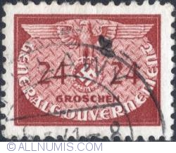 Image #1 of 24 grosze1940 - Reich emblem and GG