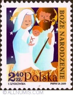 Image #1 of 2,40 Zloty 2009 - Holly Family