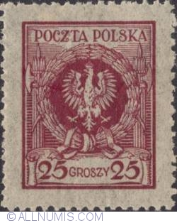 Imaginea #1 a 25 Groszy 1924 - Eagle in wreath