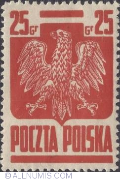 Imaginea #1 a 25 Groszy 1944 - Polish eagle