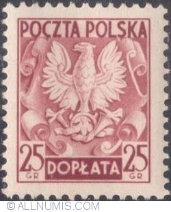 Image #1 of 25 groszy- Polish Eagle ( Without imprint )
