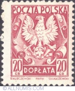 Image #1 of 25 groszy - Polish Eagle