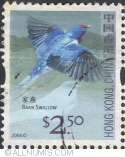 Image #1 of 2,50 $ - Barn swallow.