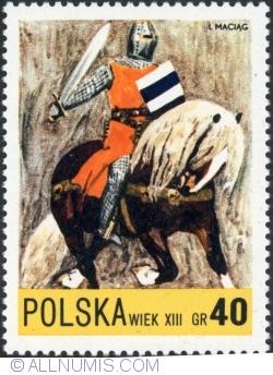 Image #1 of 40 Groszy - Knight, 13th century 1972