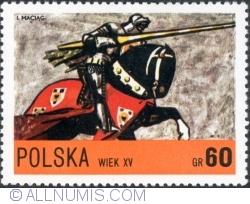 Image #1 of 60 Groszy -  Knight of Ladislas Jagello, 15th century 1972