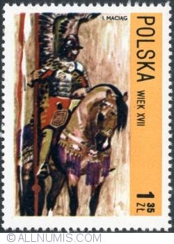 Image #1 of 1,35 Złoty - Hussar, 17th century. 1972