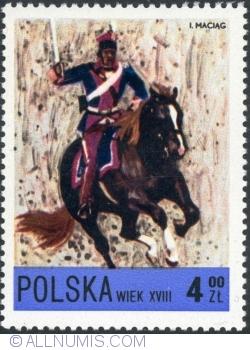 Image #1 of 4 Złote- National Guard Uhlan, 18th century. 1972