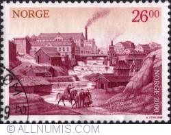 Imaginea #1 a 26 Kroner 1999 - Oslo, 1850's, industrialization period
