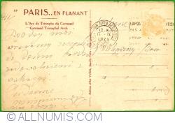 Image #2 of Paris - Arcul de Trumf din Piața Carrousel (L'Arc de Triomphe du Carrousel) (1928)