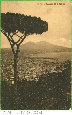 Naples - Panorama San Martino (1908)
