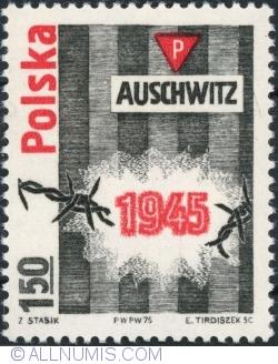 1,50 Złoty 1975 - Auschwitz