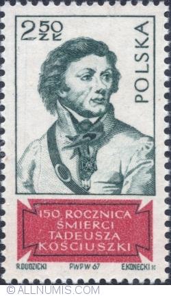 Image #1 of 2,50 Złoty 1967 - Tadeusz Kościuszko.