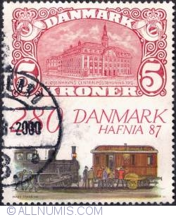 Image #1 of 2,80 krone - HAFNIA '87, Bella Center, Copenhagen, Oct.
