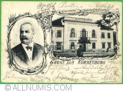 Image #1 of Korneuburg - Rudolf Steinbach railway station restaurant (Rudolf Steinbahs Bahnhofrestaurant) (1905)