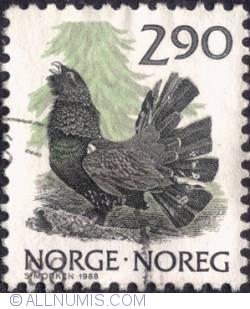 Imaginea #1 a 2,90 kroner 1988 - Capercaillie