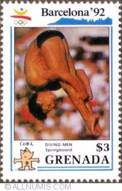 Image #1 of $3 1990 - Men´s diving