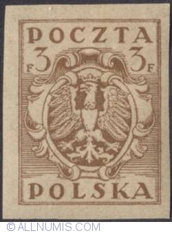 Image #1 of 3 Fenigi 1919 - Eagle - Coat of arms - plain border