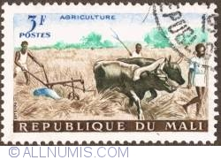 Image #1 of 3 Francs 1961 - Plowing