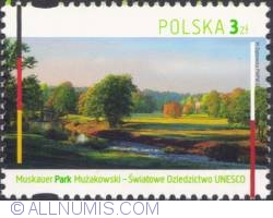 Imaginea #1 a 3 złote 2012 - Park Mużakowski  (Muskauer Park)