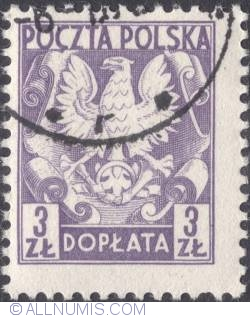 Image #1 of 3 złote- Polish Eagle