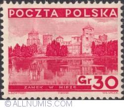 Image #1 of 30 Groszy 1935 - Castle in Mira