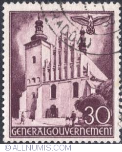 Image #1 of 30 groszy 1941 - Church, Lublin.