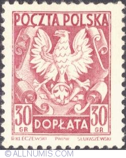 Image #1 of 30 groszy- Polish Eagle
