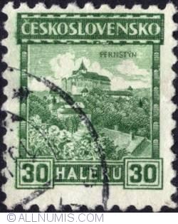 Imaginea #1 a 30 Haller 1926 - Pernštýn