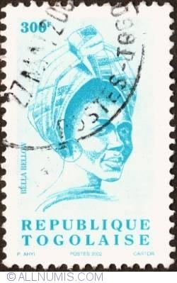 Image #1 of 300 Francs 2002 - Girl
