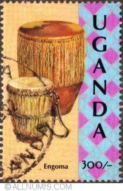 Image #1 of 300 Shillings 1992 - Engoma