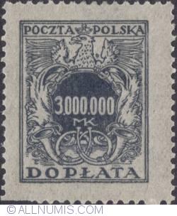 Image #1 of 3.000.000 mark - Polish Eagle